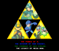 Mega Man Triforce (Version 11) by MorkezMarihser