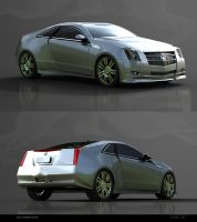 Cadillac CTS COUPE by GstylezProdigy