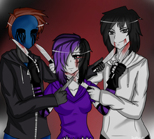 knives of a killer by deathzuukii