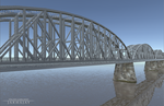 Rail Bridge by Jakhajay