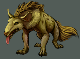 Growly Beast by Stalcry