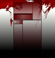 Red Ink YouTube Background by MadamSteamfunk