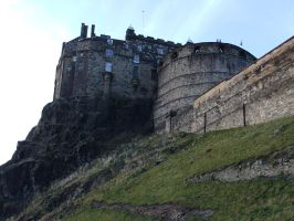 Edinburgh Castle by fuguestock