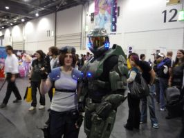 MCM Expo: Me + Master Chief by x-sim1-x