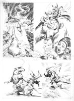 ESCAPE TO MADNESS pencils 07 by benitogallego