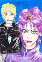 Rose and Cashard by CandraRose