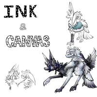 Ink and Canvas(Nembra myo contest entry) by theYTfox