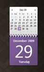 Purple Calendar Gadget by 4chocolatesummeryay