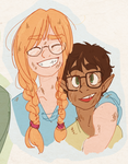 dndash - anita and toivo by Kayotics