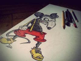 Mickey Mouse by Krash-Head
