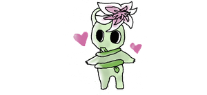 Orchid Pikmin Oc by Penelope-Sprinkles
