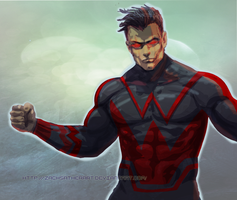 Wonderman Speedpaint By Zachsatherart by ZachSatherArt