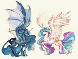 Princess Sisters by Earthsong9405