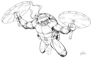 Michelangelo by SaviorsSon
