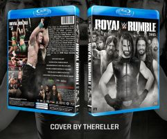 WWE Royal Rumble 2015 Custom BluRay Cover by TheReller