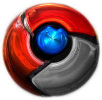 Google Chrome 4 Shinny Icons by X3RG10