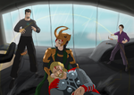 Commission- Asgard Has Fallen by Phi-9009