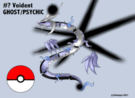 Fakemon Legendary VOIDENT by Solastyre