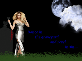 Dance in the graveyard by The---Storyteller