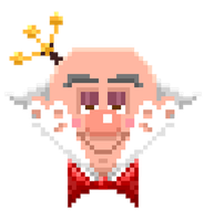 Wreck-it Ralph: King Candy Pixel Style by MKLier