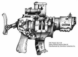 HMAC Heavy Assault Cannon by wiledog