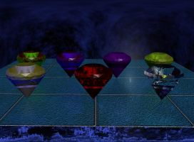 Now, I got all the chaos emeralds by K-NIGHT-WIND