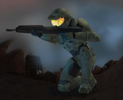 Master Chief by elin14