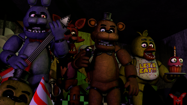 FNaF SFM: The original ones by Mikol1987