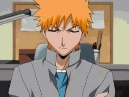 Bleach - No way, dumbass!! (GIF) by vaikdraco