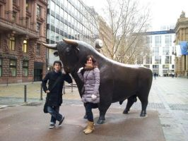 The Bull from Boerse in Frankfurt by Thurosis