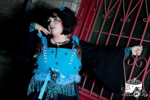 blue voodoo doll 2 the red door by trixyloupwolf
