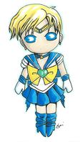 Sailor Uranus by aoi-milk