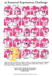 25 Essential Expressions Challenge: Pinkie Pie by cipherpie