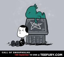 Call of Snoophulhu by annamariajung