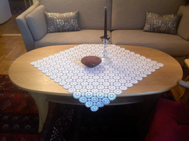 Crocheted tablecloth by ToveAnita