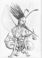 Insectoid Faery by SpeakingMute