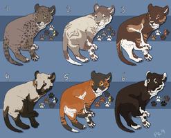 Big Cat Cubs - CLOSED by Pred-Adopts