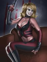 Harley Quinn Gorgeous and Dangerous by Moonarc