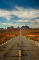 Road To Monument Valley by jamezevanz