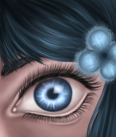Blue eye by CuteReaper