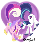 Two Hearts Beating as One by Tazimo