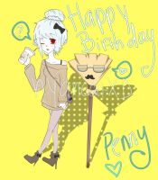 HAPPY B DAY PENNY by Potato-Sempai