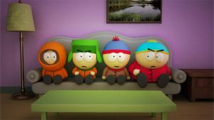 3D South Park by Chiclevic