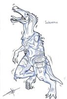 Suchomimus transformation by Nolhyaa
