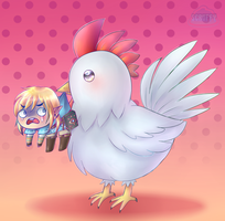 Year of the Cucco by ScruffyPoop