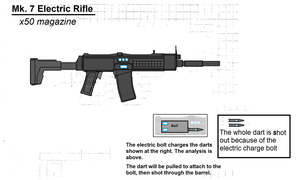 Mk 7 Electronic rifle by Artmarcus