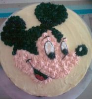 Micky Mouse Cake by Dark-Queen-of-Death