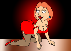 Lois Griffin - Colour by LoudNoises
