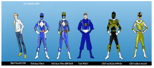 POWER RANGERS DOSSIER: BILLY CRANSTON by LeveyYes