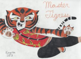 Master Tigress by Kungrea